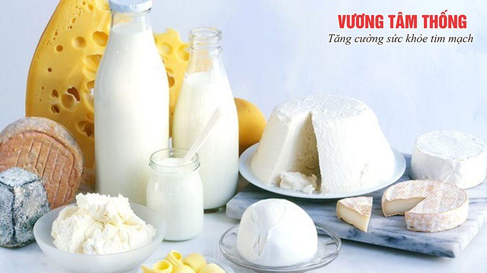 Sữa ít béo và các sản phẩm từ sữa tốt cho người bệnh mỡ máu